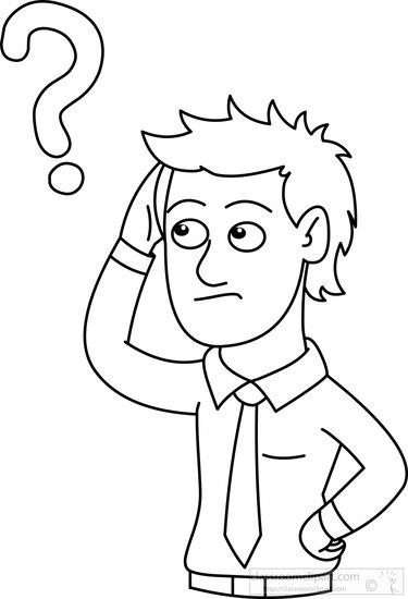 man-with-question-mark-outline-black-white-clipart-5391